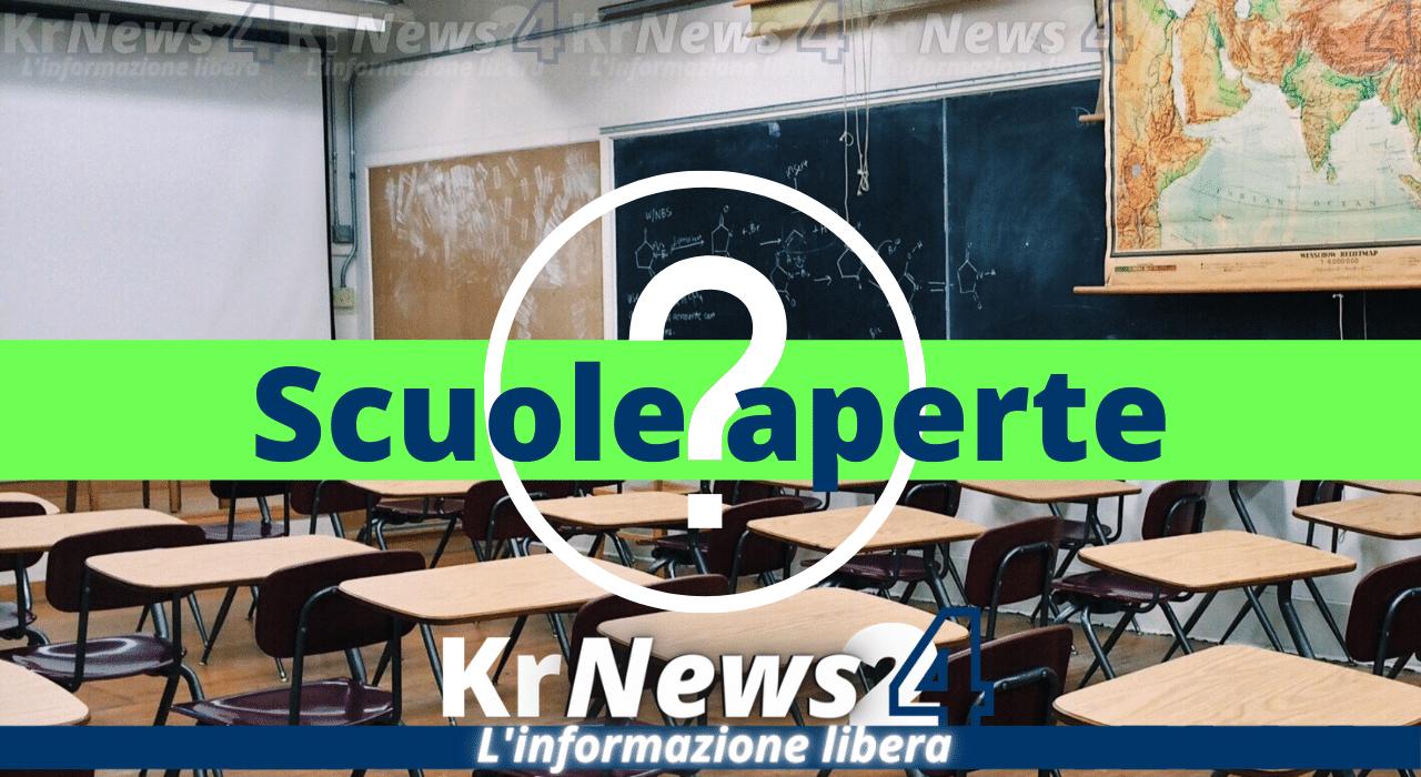 scuole aperte a Crotone kr news 24